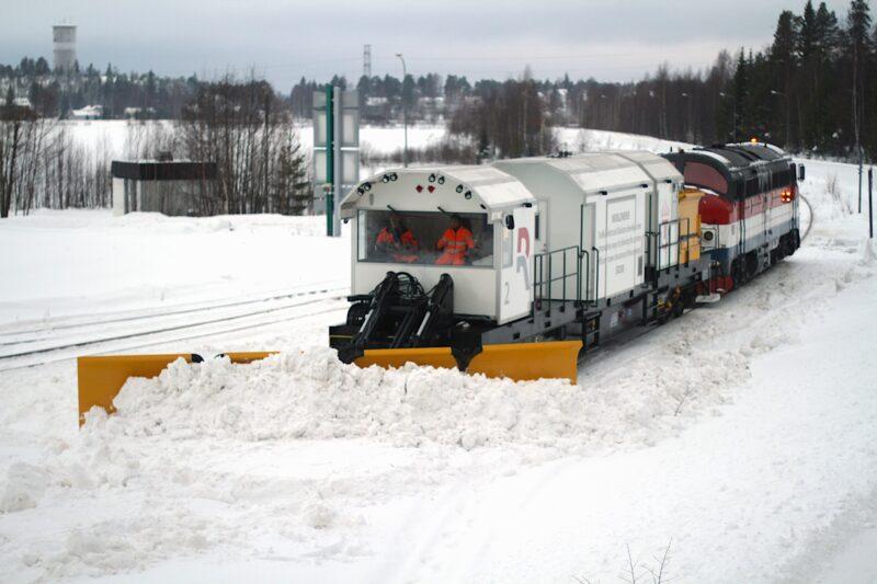 Railcare SR 200 snöplog